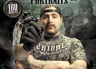 Franco Vescovi's Instructional DVD Mastering Tattoo Portraits