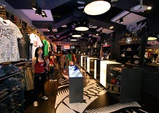 New Tribal Retail Store in Manila