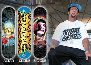 New Skate decks for Winter 2009 Now Available!