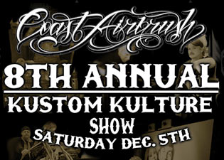See Tribal at the Coast Airbrush Kustom Kulture Show