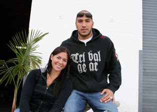 Brandon 'the Truth' Vera and His Wife Kerry