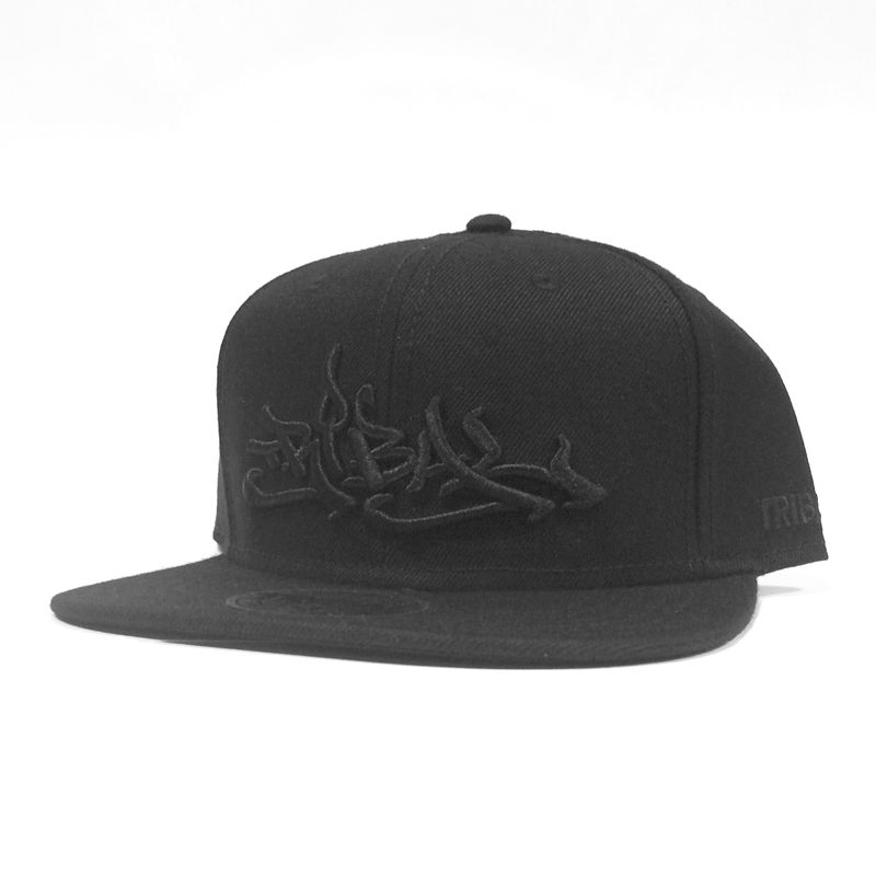 BLACK CLASSIC- Snapback Cap – Tribal Streetwear – Worldwide Headquarters bd303adff8e