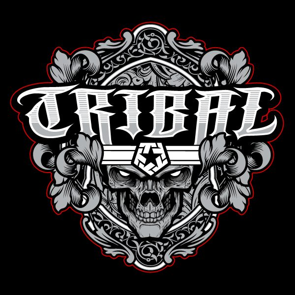 Tribal gear logo vector