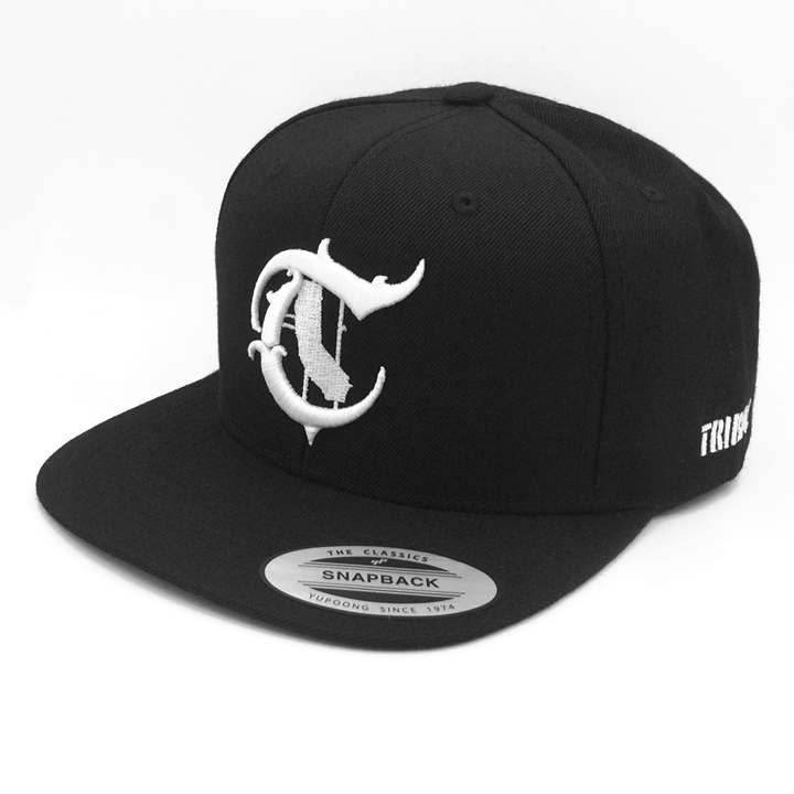 State Black   White – Snapback Cap – Tribal Streetwear – Worldwide ... 2f43934ee40