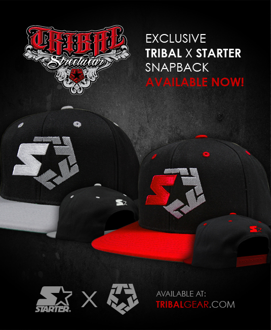 LIMITED EDITION TRIBAL X STARTER SNAPBACKS IN STOCK! – Tribal ... 41fe06e2f0b